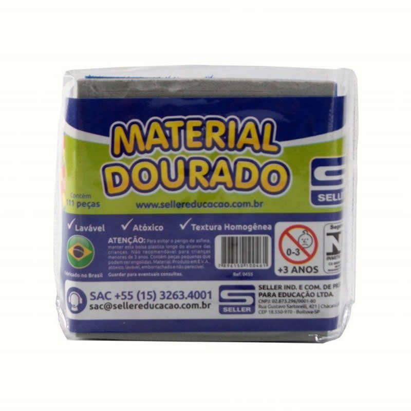 Material Dourado Do Aluno Em E.V.A Seller 0455 16747