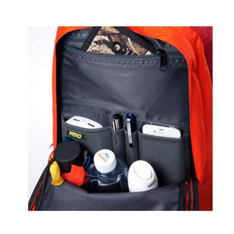 Mochila Para Notebook Nitro Core Vermelha 25982