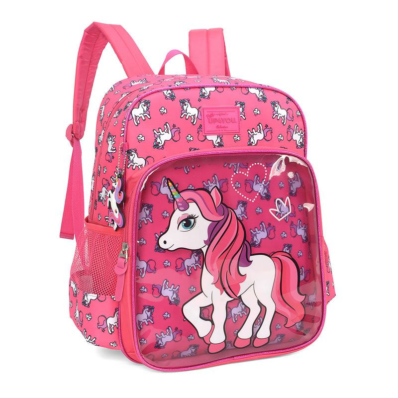 Mochila UP4YOU Petit Unicórnio Pink Is34221Up 28396
