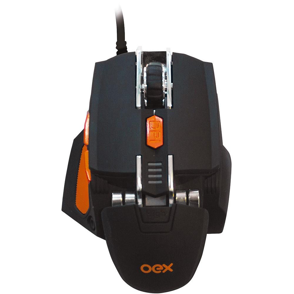 Mouse Gamer Cyber MS306 5200dpi 7 Botões 511302 OEX 25464