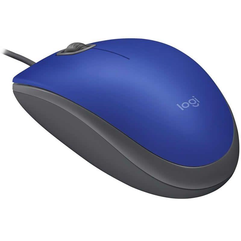 Mouse Logitech Silent USB Azul M110 27519