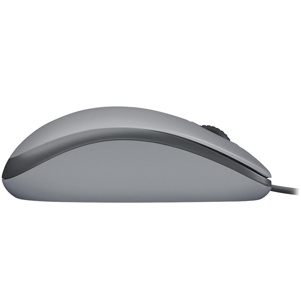 Mouse Logitech Silent USB Cinza M110 27521