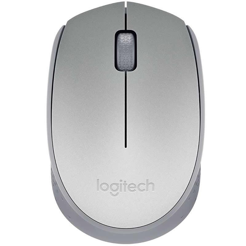 Mouse Logitech Wireless M170 Prata 27206