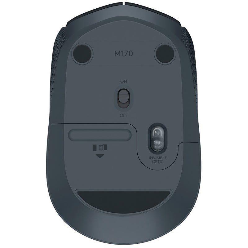 Mouse Logitech Wireless M170 Preto 25565