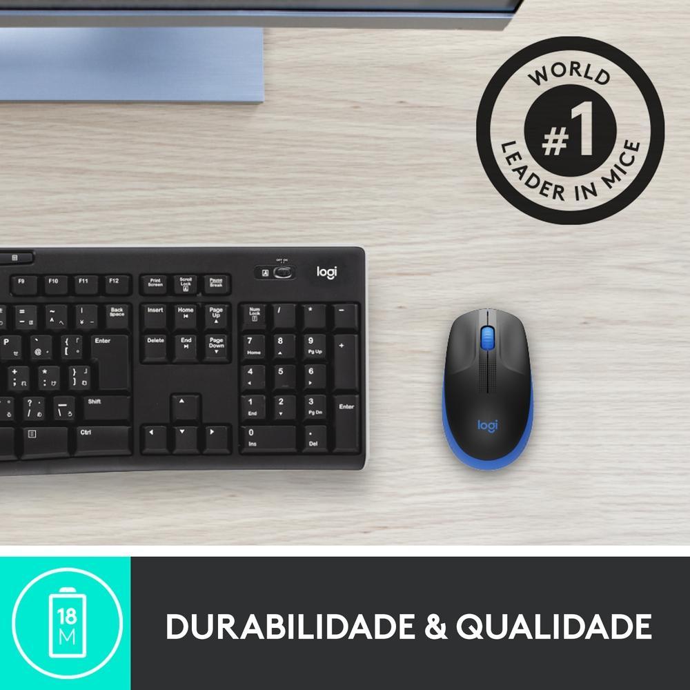 Mouse Logitech Wireless M190 Azul 29603