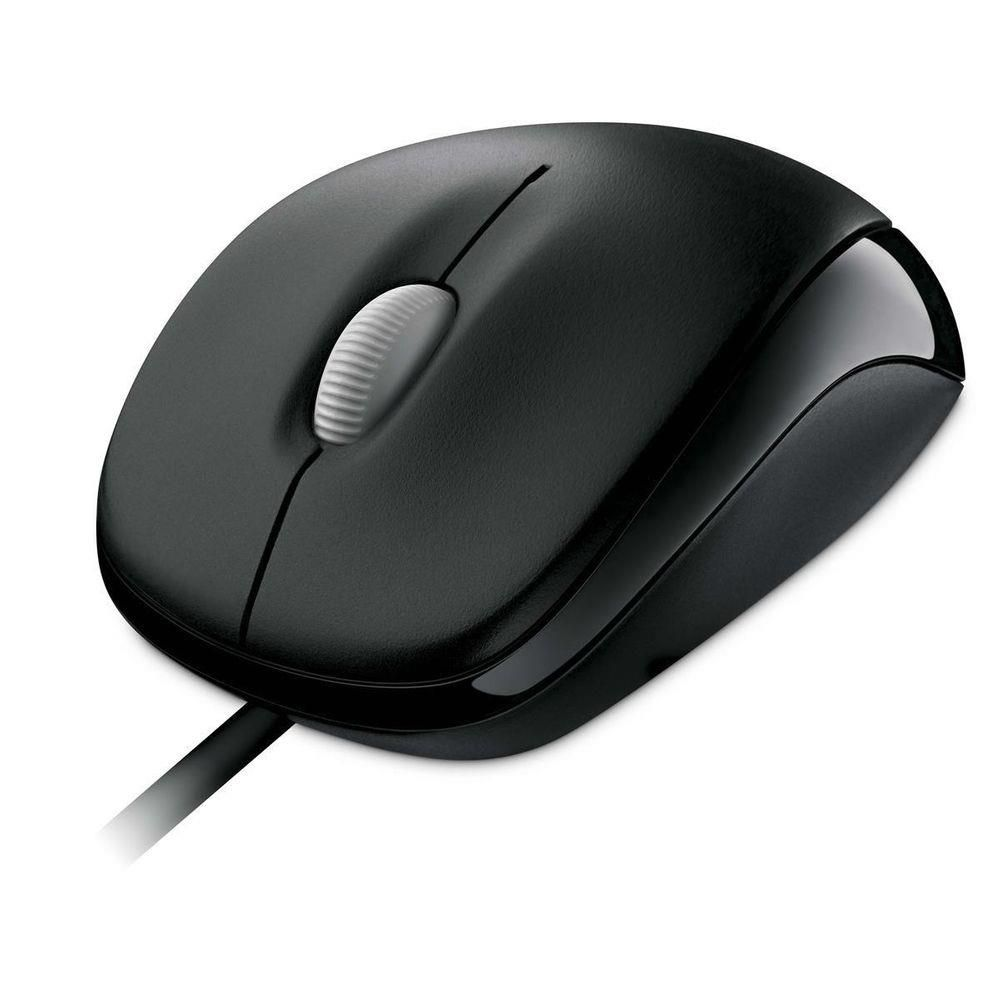Mouse Microsoft Com Fio Compact USB Preto U8100010 27702