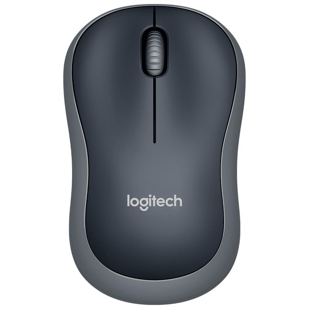 Mouse Mini Sem Fio RC Nano M185 Cinza Logitech 19409