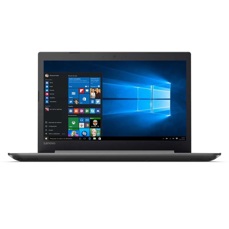 "Notebook Lenovo Ideapad 320 Intel® Core i3-6006U 4GB 1TB Windows 10 15.6"" Full HD 80YH0008BR Prata 26106"