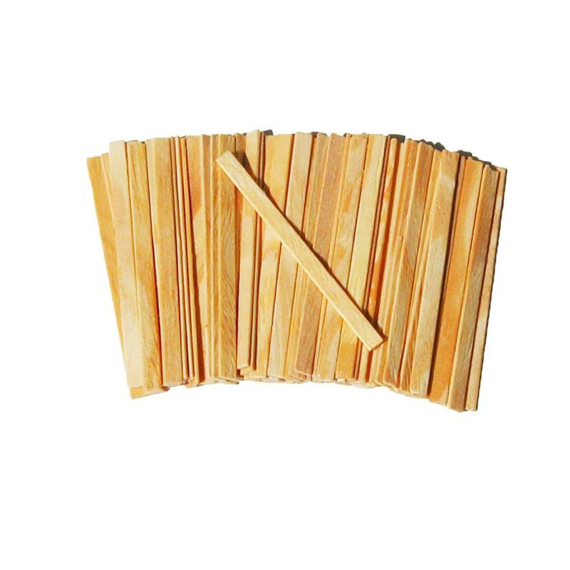Palito De Picole Quadrado Paçote Com 50 Palitos 03853