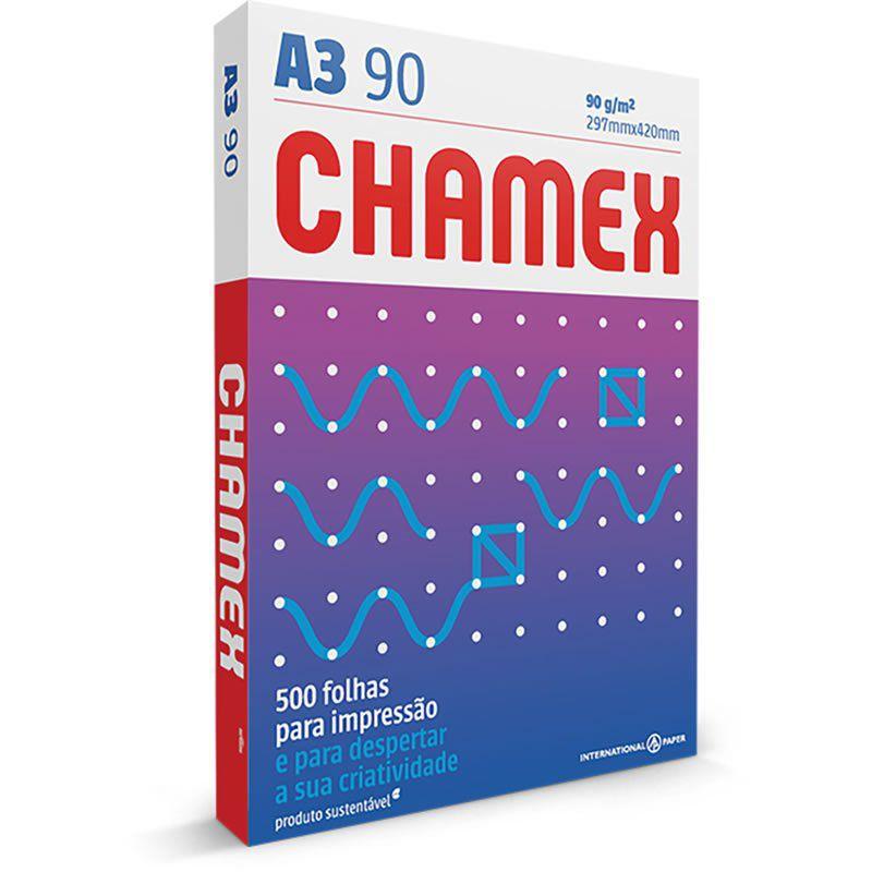 Papel A3 Chamex Super 90G com 500 Fls 15643