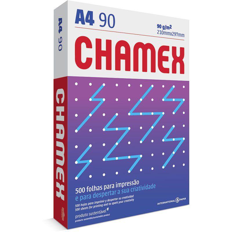 Port Papelaria Escritório E Informática Papel A4 Chamex Super 90g