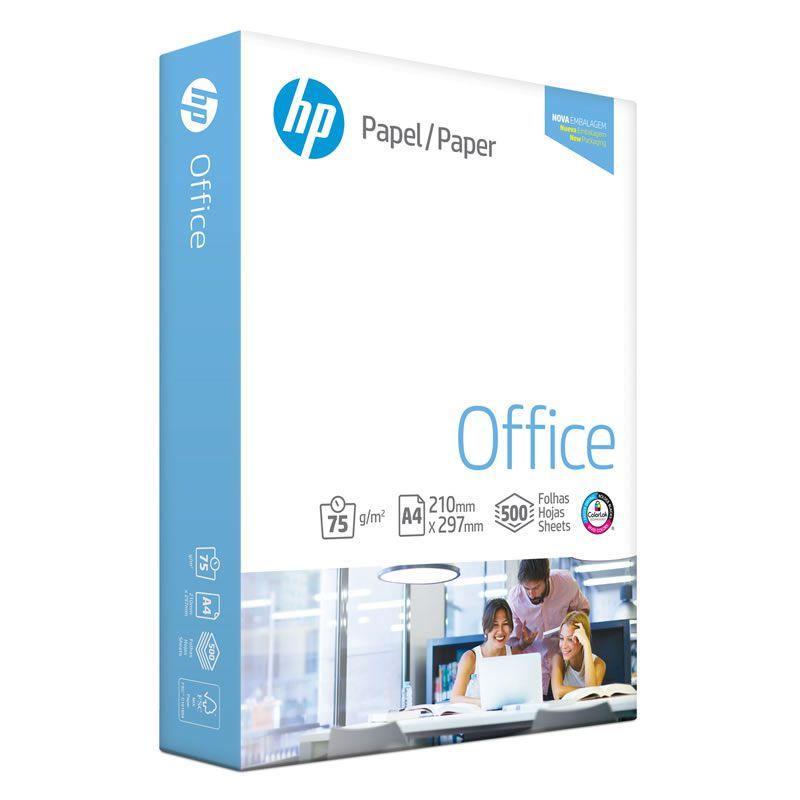 Papel A4 HP Office 75Grs 210X297mm 500 Fls 15631