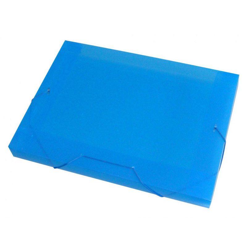 Pasta Aba Elástico ACP Ofício PP Line Azul 1022 02057