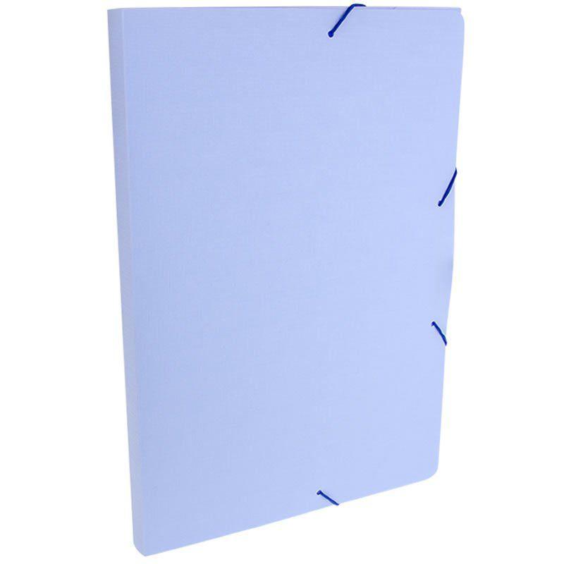 Pasta Aba / Elástico Dello Oficio PP Serena Azul Pastel 0247.Bp.0050 26296