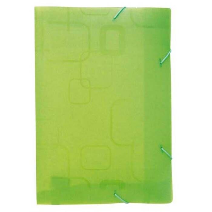Pasta Aba Elástico Neon Verde Fine Oficio PP. 0240.T Dello 17276