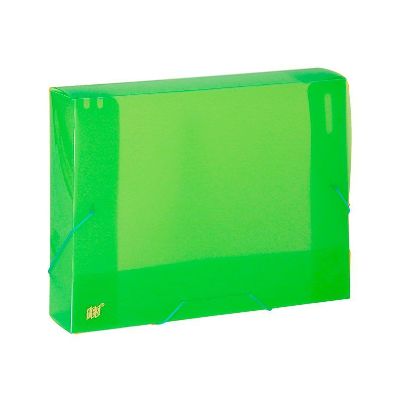 Pasta Aba Elástico Yes Ofício (335X245) 40Mm PP Color Intense Verde Cx040Sc 22457