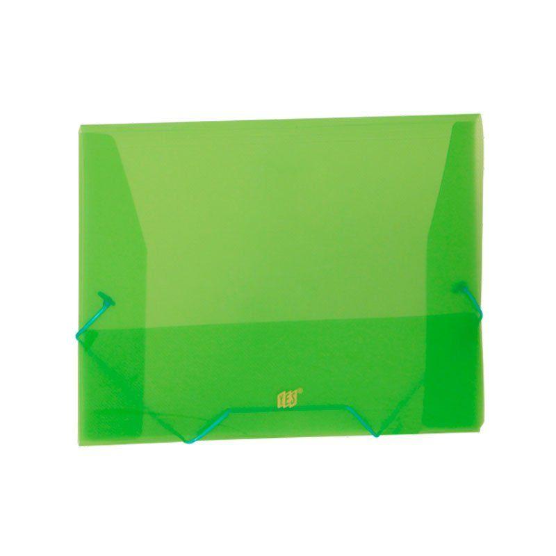 Pasta Aba Elástico Yes Ofício (348X233) PP Color Intense Verde Po2Bsc 22461