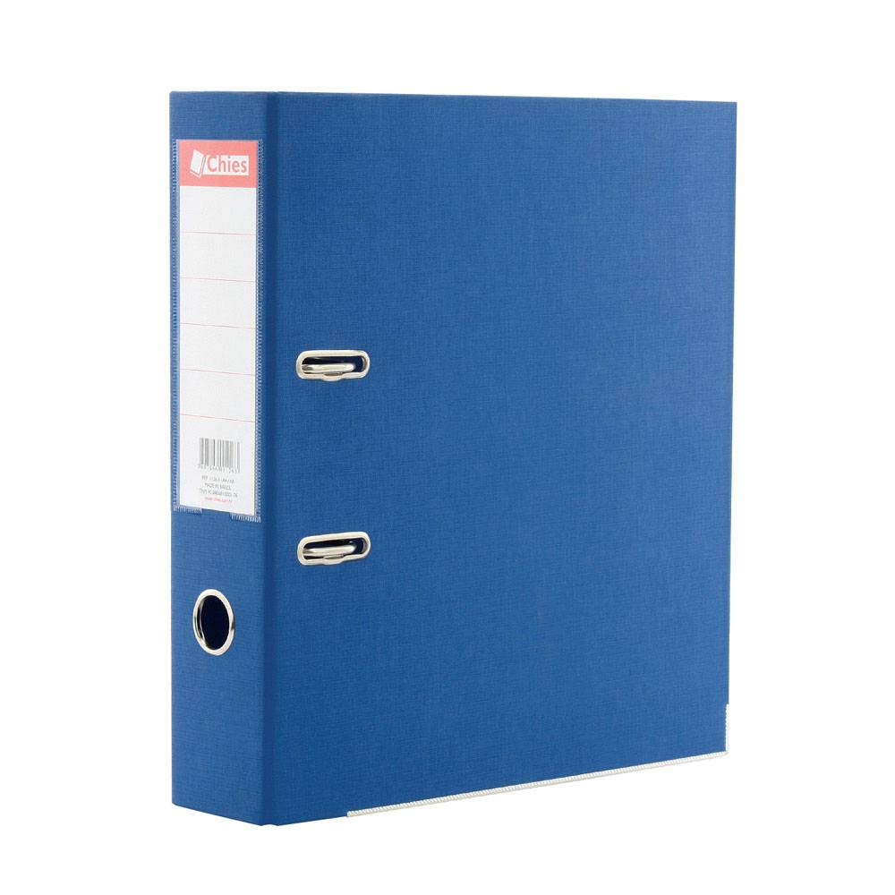 Pasta Az Registrador Chies A4 Ll Azul Royal 1126-3 08291