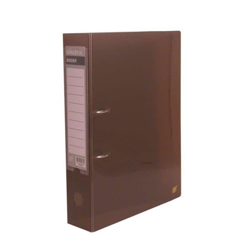 Pasta AZ Registrador Yes Plastica Fume TP Rb02Fs 12419