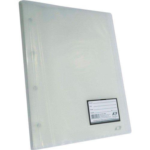 Pasta Catálogo ACP 335X257 com 30 Env Plast 0,12 PP Line Cristal 1038.Cr 03071