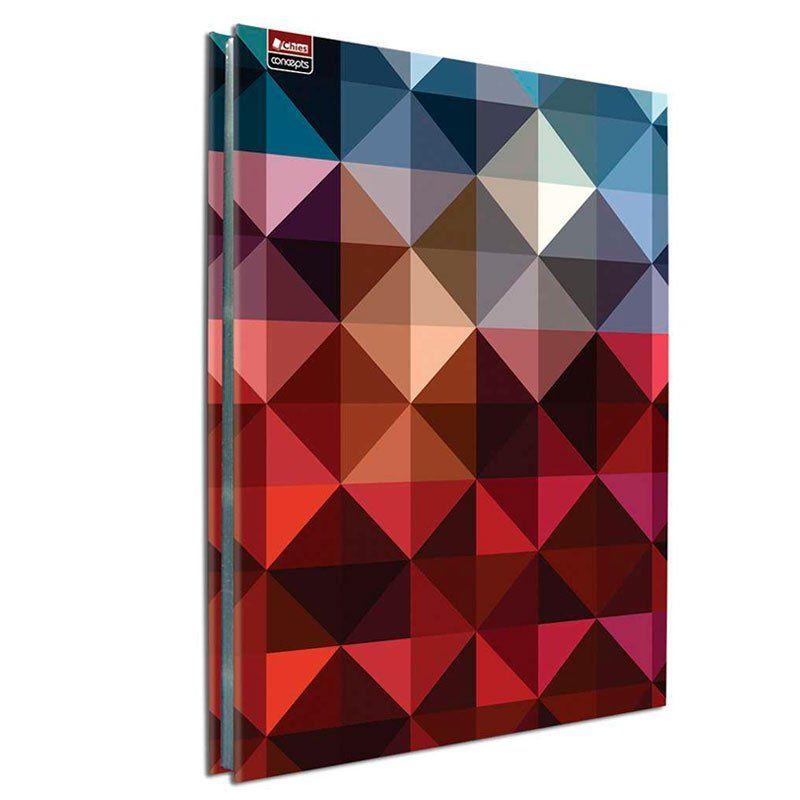 Pasta Catálogo Com 25 Envelopes ofício Abstrato Com Colchete 5351-5 Chies 1 UN 25559