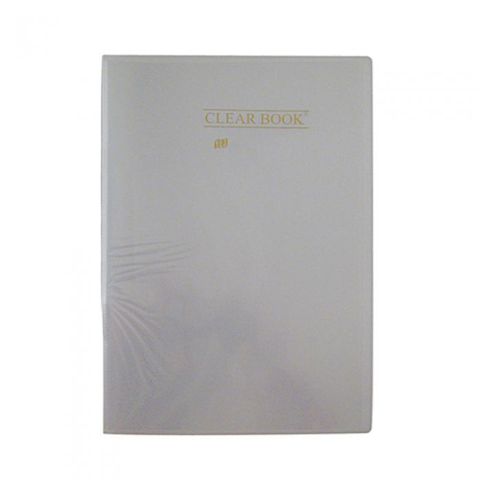 Pasta Catálogo Cristal Clear Book com 50 Fls Oficio Bd50S Yes 22490