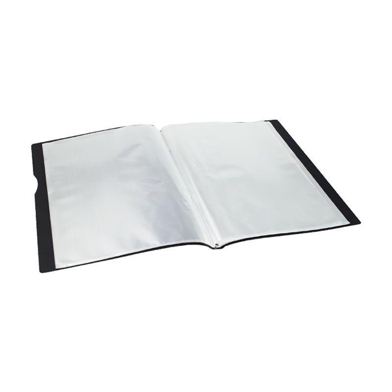 Pasta Catalogo Dello Com 30 Plasticos Preto Executive 6056.P.0020 25870