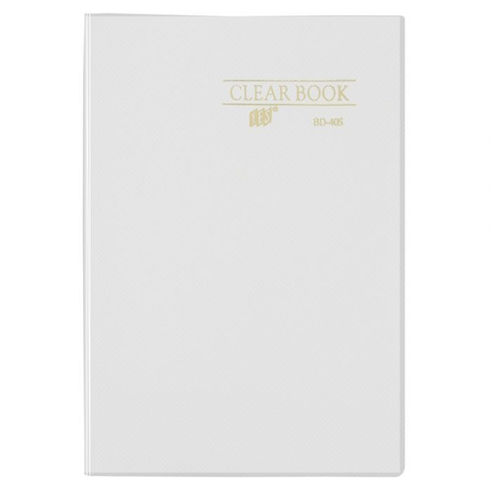 Pasta Catálogo Fumê Clear Book com 30 Fls A4 Bd30As Yes 12475