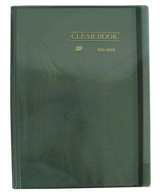 Pasta Catálogo Yes Clear Book com 20 Fls Fume TP Oficio Bd20S 11710