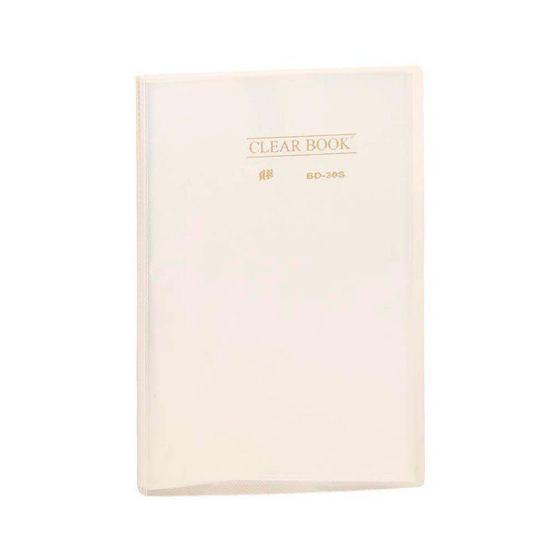 Pasta Catálogo Yes Clear Book com 30 Fls Of Transparente Bd30S 12434