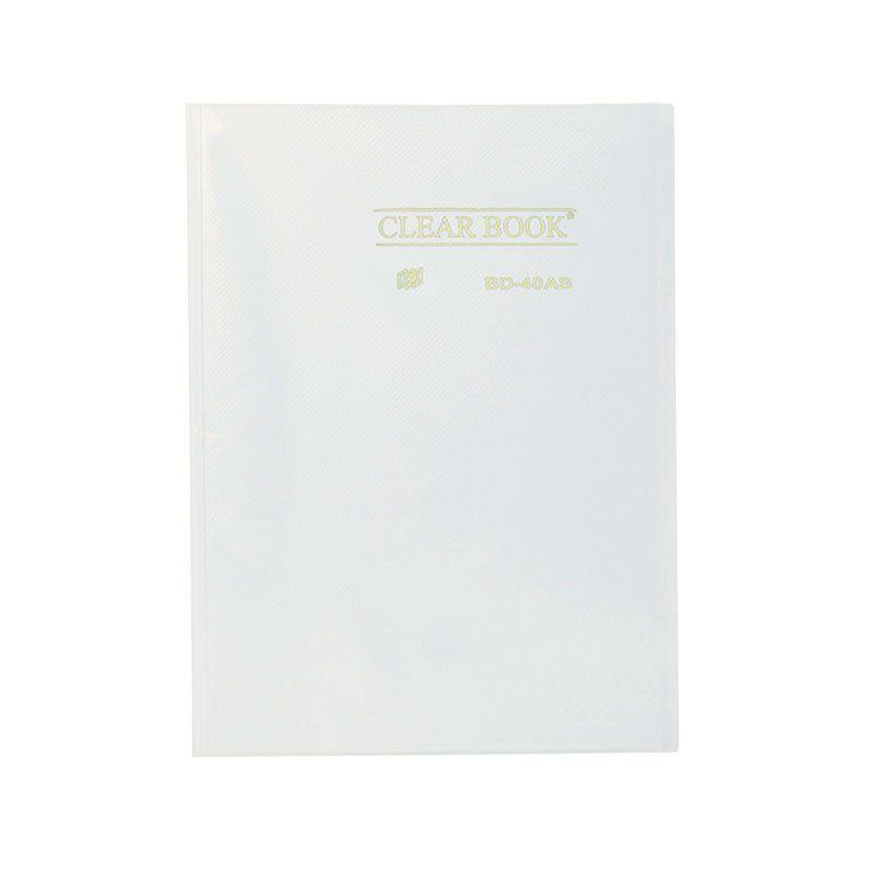 Pasta Catálogo Yes Clear Book com 40 Fls Cristal  Tp A4 Bd40As 02143