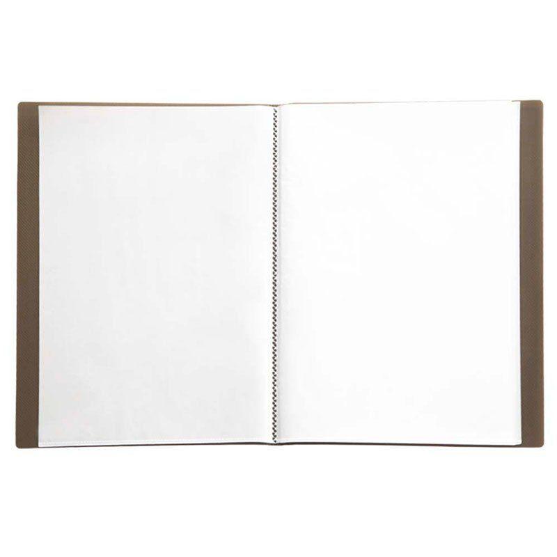 Pasta Catálogo Yes Clear Book com 40 Fls Fumê  Tp A4 Bd40As 12439