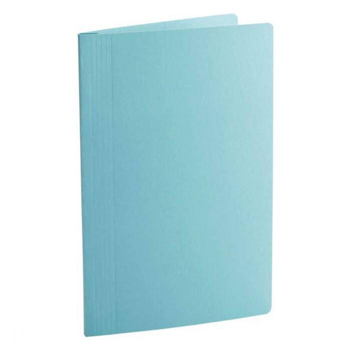 Pasta Classificadora Clean Cartolina Plastificada Azul com Grampo Plastic. 0205C Dello 08002