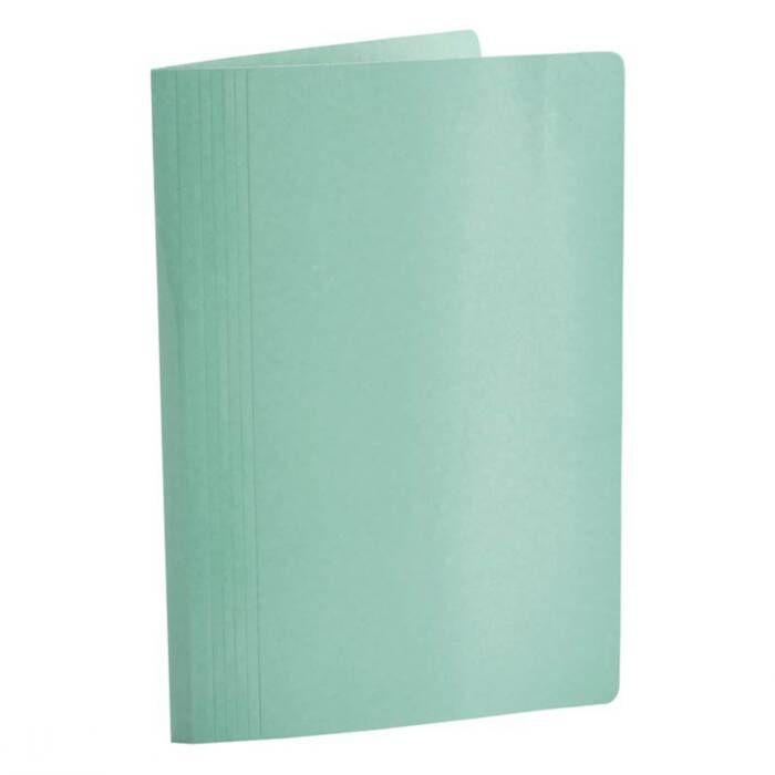 Pasta Classificadora Clean Cartolina Plastificada Verde com Grampo Plastic. 0205.T.0050 Dello 08004