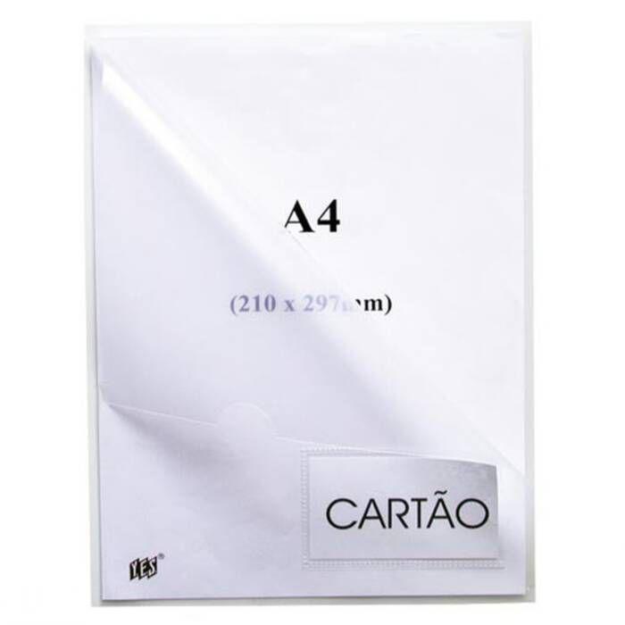Pasta L Cristal com Visor A4 Com 10 Un. L310N Yes 13159