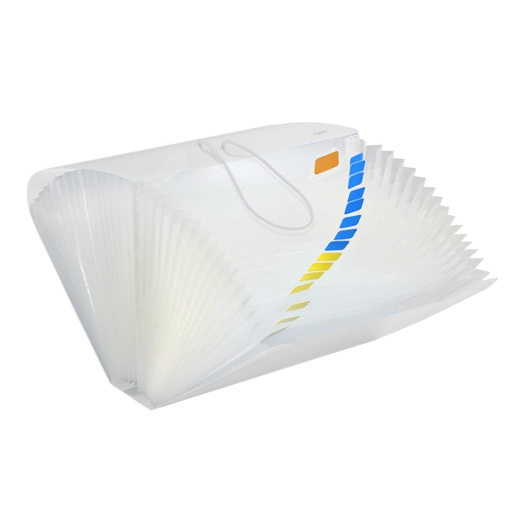 Pasta Sanfonada DAC CH 31 Divisórias PP Line Transparente 6017PP-TR 29946