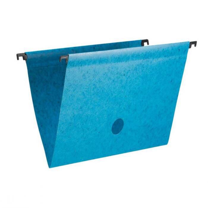 Pasta Suspensa Marmo Azul Plastificada Completo 0039.C.0050 Dello 07974