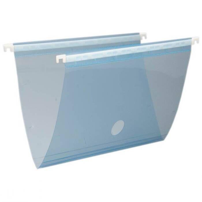 Pasta Suspensa Plast Azul Em PP Completa 0005C Dello 07951