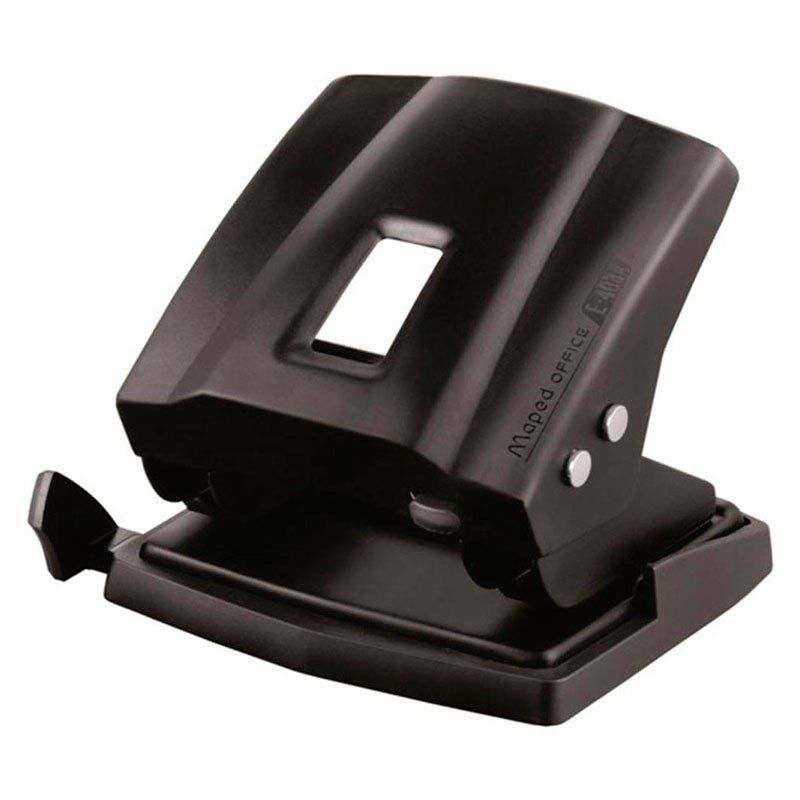 Perfurador Maped Essentials 2 Furos Preto 30/35 Fls 403411 21053