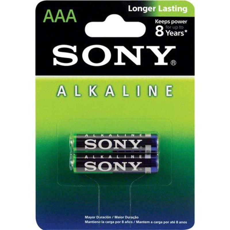 Pilha Sony Alcalina Palito AAA 2 Un. AM4L-B2D 24293