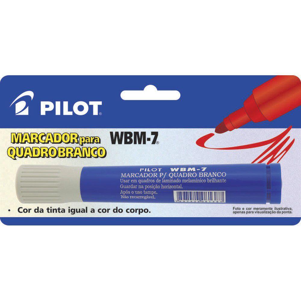 Pincel para Quadro Branco Pilot Wbm-7 Azul 24983