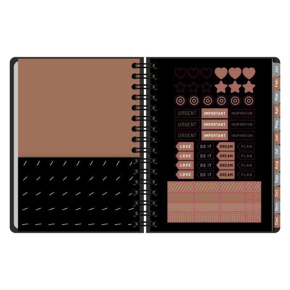 Planner Otima Noir A5 Wire Tr 03022402010 29011
