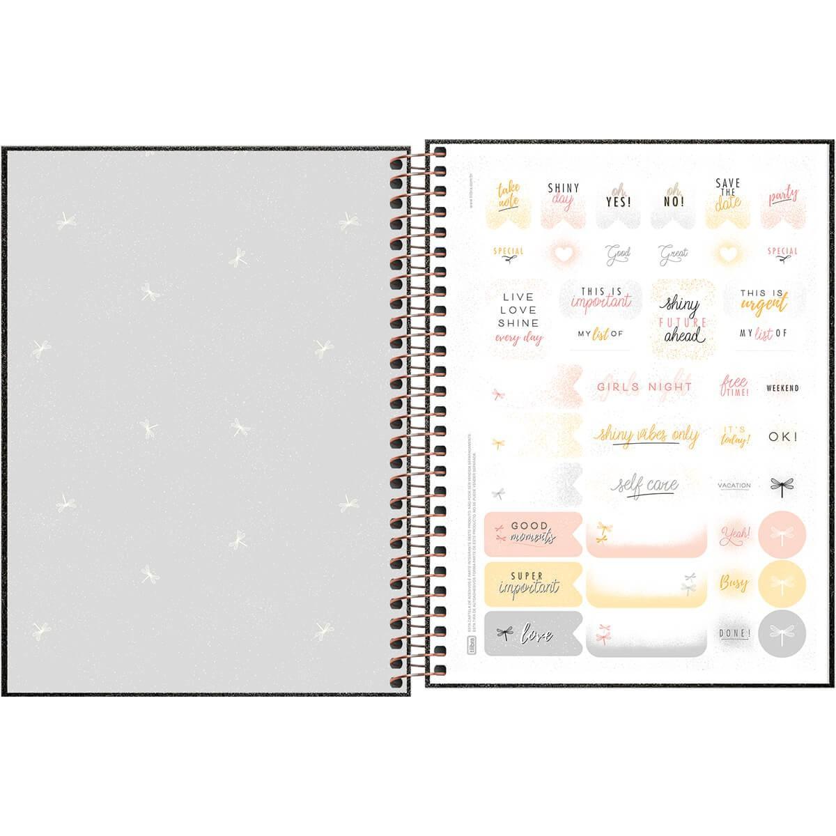 Planner Tilibra 2021 Cambridge Shine Espiral 304522 29474