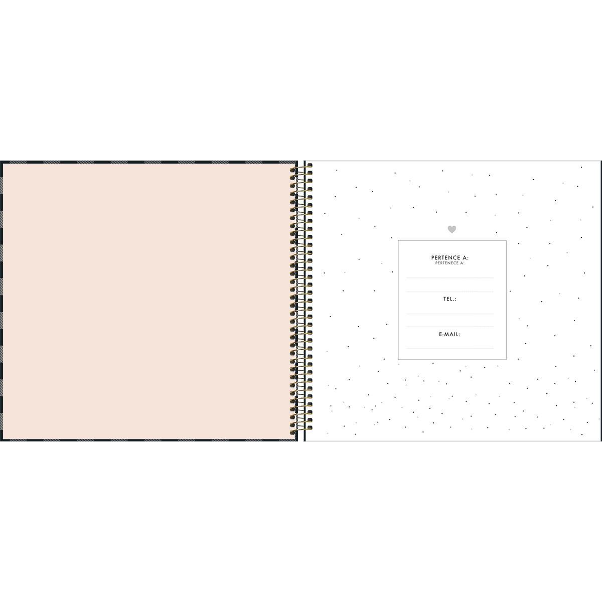 Planner Tilibra West Village Capa Dura Espiral Permanente 312410 29473
