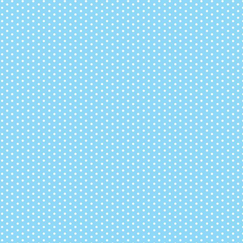 Plástico Adesivo Contact 45cm X 2M Poa Azul Bebe 220105C/2 28546