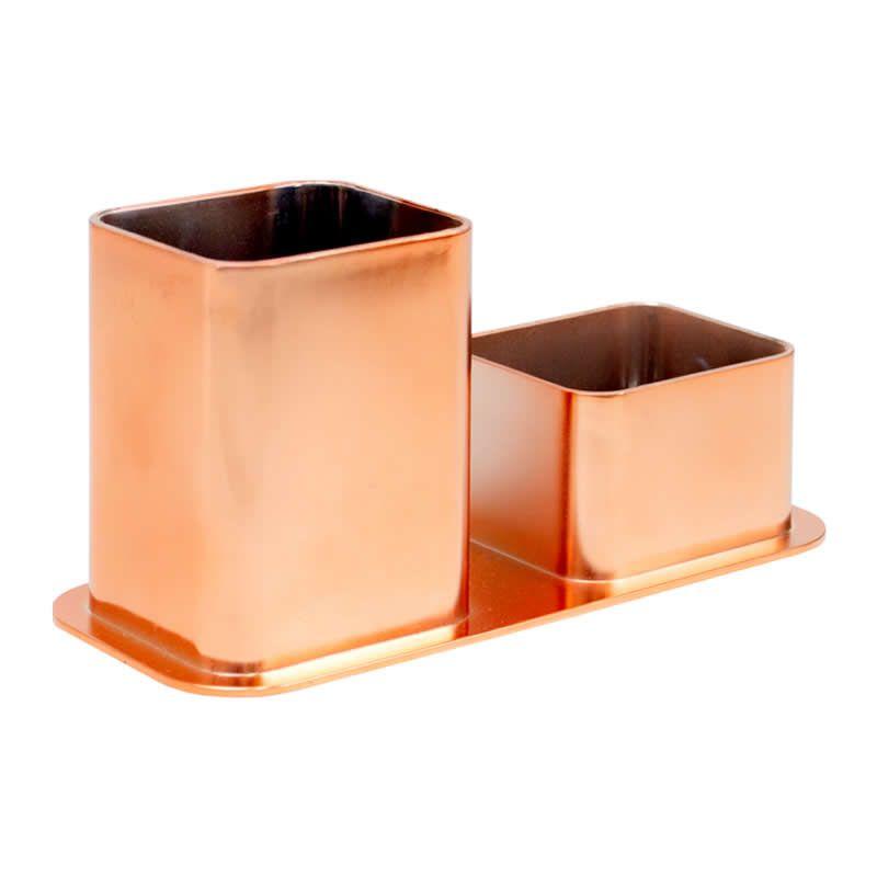 Porta Canetas / Clips Dello Metalizado Rose Gold 3030.Rg.0012 27137