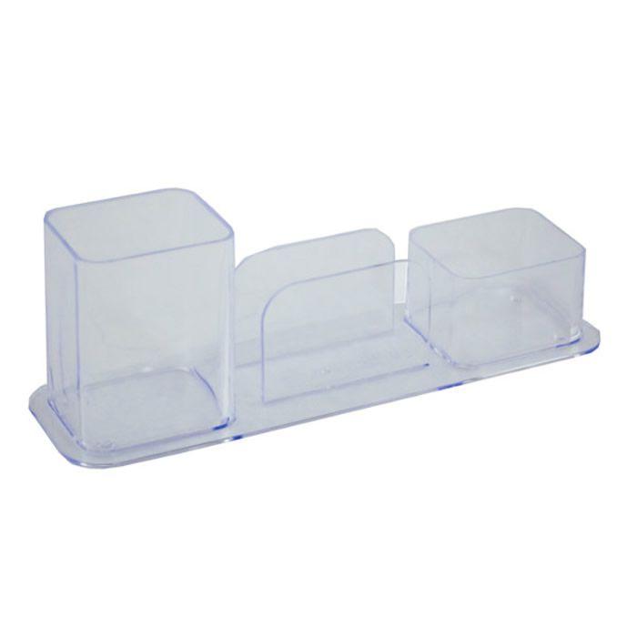 Porta Canetas / Clips / Lembrete Dellocolor Cristal 3031.H0012 Dello 22145