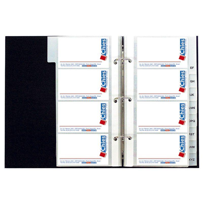 Porta Cartão de Visita Chies Para 400 Cartões 1408-0 10590