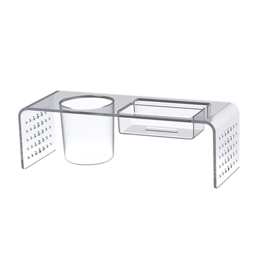 Porta Lápis / Clips / Papel Lembrete Waleu Multi Prime Cristal 10170037 28886