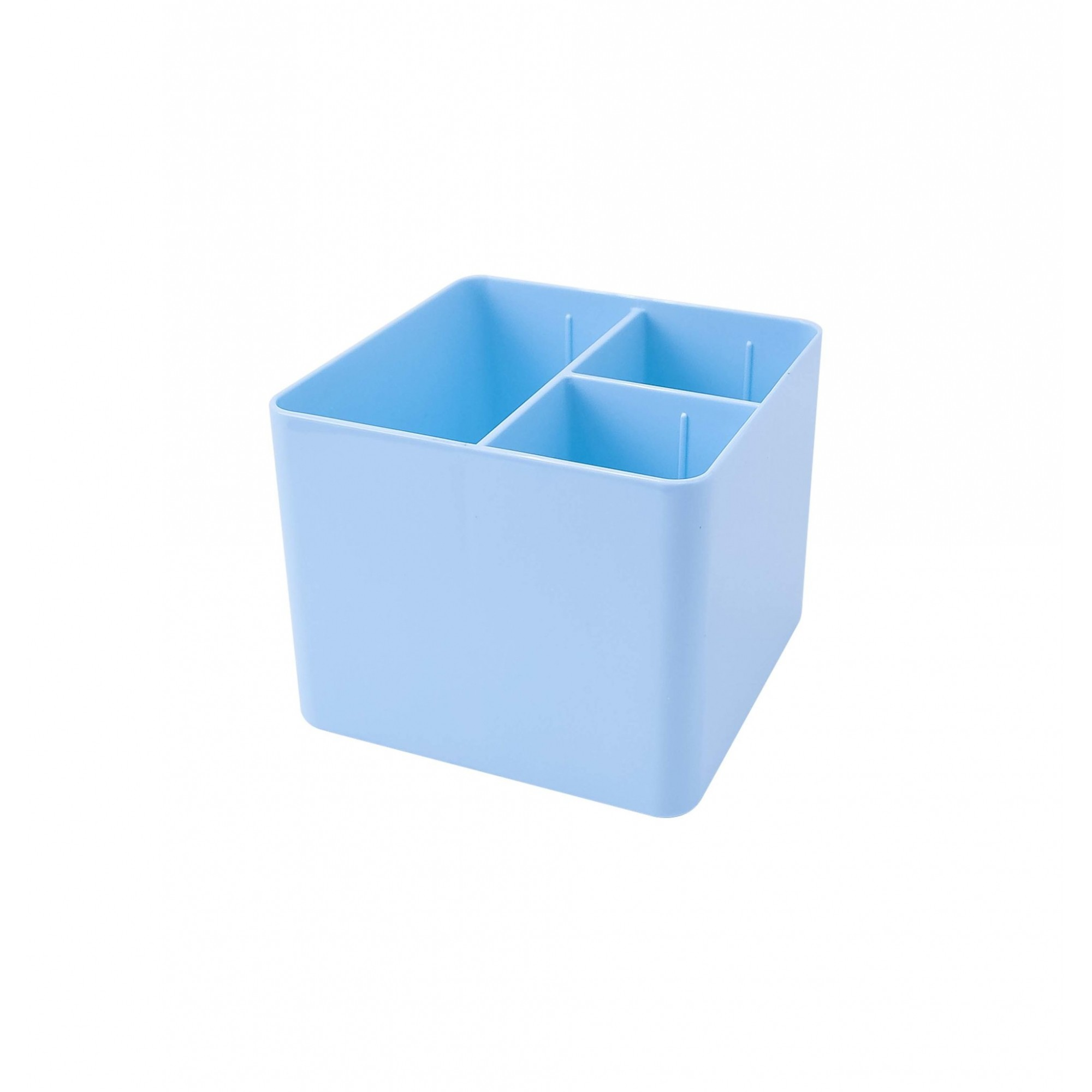 Porta Objetos 3 Divisorias Dello Azul Pastel 3020.Bp.0006 29651